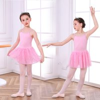 Wholesale ballet birthday party for sale - Group buy Fashion Girls Ballet Dress Princess Glitter Star Sling Dress Solid Summer Kids Clothing For Birthday Wedding Party Vestidos
