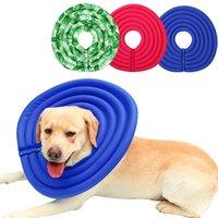 ingrosso cani leggeri-Collare protettivo per cani anti-morso Elizabeth leggero per cani Guarigione per ferite per animali da compagnia Cat Dogs Health Collar Medical Circle 10A
