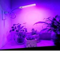 ingrosso piante di alluminio-USB principale coltiva la lampada per le piante lo spettro completo principale coltiva l'alluminio leggero di alta qualità per le piante della vegetazione Illuminazione dell'interno dei fiori