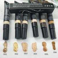 profesyonel makyaj paletleri toptan satış-6 renk Kapatıcı Fondöten Makyaj Kapak Astar Kapatıcı Baz Profesyonel Makyaj Yüz Kontur Paleti Makyaj Taban Damla nakliye