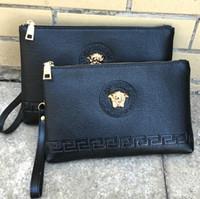 Wholesale hair clutches for sale - Group buy Medusa Hot selling fashion ladies hand bags women s casual handbags handbags Men s wallett Big trademark fashion bag Clutch bag wallet
