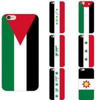 tampa para iphone bandeiras venda por atacado-Tema da bandeira nacional do Iraque personalizado TPU Macio Casos de Telefone Capa Foto Personalizada Imagem Logotipo Para iPhone 6 7 8 S XR X Plus