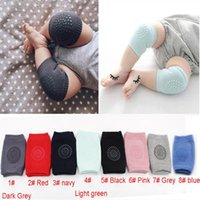 Wholesale infant toddler socks resale online - Baby Knee Pads Kids Crawling Safety Protector Elbow Pad Toddler Infant Anti Slip Knee Pad Caps Socks Terry Leg Warmers for months
