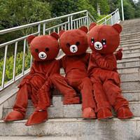 ursinho de pelúcia venda por atacado-2019 venda Quente rilakkuma mascote urso de pelúcia anime traje da mascote frete grátis