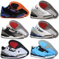 мужская обувь оптовых-2019 новый дешевый Jumpman 3 уличная обувь III мужчины лучшая цена лучшие продажи 3S спортивные реплики мужские кроссовки 40-47