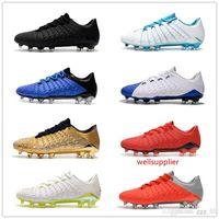 Wholesale ronaldo soccer boots hypervenom for sale - Group buy New Colors Styles Hypervenom Phantom III DF FG Soccer Soccer Shoes Cristiano Ronaldo Men Soccer Cleats World Cup Football Boots