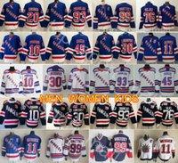 nouveaux chandails de hockey achat en gros de-Maillot de hockey des Rangers de New York Artemi Panarin Mika Zibanejad 45 ans Kaapo Kakko Henrik Lundqvist Messier Chris Kreider Wayne Gretzky Brady Skjei
