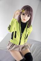 muñecas sexuales femeninas de japón al por mayor-muñecas sexuales de silicona de tamaño natural 130 cm japón muñecas de amor realistas para mujeres adultas Vagina Artificial Coño Real