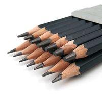 kalem 2 saat toptan satış-14 adet / takım Profesyonel Kroki Çizim Kalem Seti HB 2B 6 H 4 H 2 H 3B 4B 5B 6B 10B 12B 1B Boyama Kalemler Kırtasiye Malzemeleri