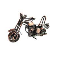 motocicleta artesanato venda por atacado-Harley Motocicleta Modelo de Arte Do Metal Artesanato Harley Harley Motocicleta Modelo de Brinquedo M36 Modelos de Moto Decoração de Casa Presentes de Aniversário