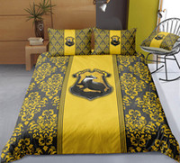 Wholesale green twin bedding sets resale online - Thumbedding Harry Potter Bedding Sets King Size Floral Duvet Cover Set Queen Twin Full Single Double Animal Bed Set With Pillowcases