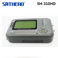 Wholesale satellite signal meter finder resale online - Genuine SATHERO SH HD Digital Satellite Finder DVB S2 DVB T2 Combo Signal Finder DVB S Satfinder DVB T Signal Meter