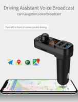 transmisores usb para construir radio de coche al por mayor-bluetooth 4.0 Transmisor FM para coche Adaptador de radio inalámbrico Cargador USB Reproductor de MP3 Micrófono inteligente incorporado # WL1