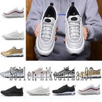 zapatillas de colores al por mayor-2019 Designer shoes men women Nike 97 AIR MAX OG X Undftd Speed Red DS para hombre Zapatillas de deporte Zapatillas de deporte para hombre Zapatillas de deporte Tripel Blanco