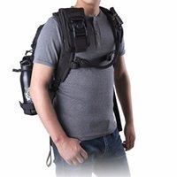 neue handytasche großhandel-Neue Taktische Hüfttasche Stoßfest Doppel Phone Pouch Wallet Card Handtasche Molle System Zubehör für Camping Jagd