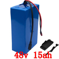 48V 1000W battery 48V 15AH electric bike battery 48V 15AH scooter Lithium Battery pack for 500W 750W 1000W motor Duty free
