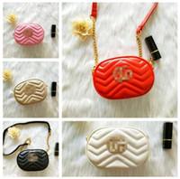 Wholesale cute messenger purse resale online - Kids Handbag Baby Lovely Designer Mini Purse Shoulder Bags Teenager Girls Princess PU Bag Cute Christmas Gifts For Little Girls C01