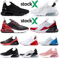 Wholesale new plastic shoes resale online - New Bred Stock x running shoes men women triple black white cactus pink Photo Blue University Red mens trainers outdoor sports sneakers
