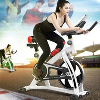 Wholesale spin bikes resale online - Home Spinning bicycle ultra quiet indoor exercise bike kg load Indoor Cycling Bikes sports equipment pedal bicycle
