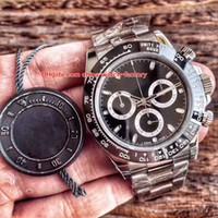 en iyi i̇sviçre saatleri toptan satış-9 Stil Best Edition 904L Çelik İsviçre CAL.3131 3135 4130 Hareketi 40mm Cosmograph 116520 116400 116500 116621 Otomatik Erkek Saatleri