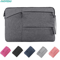 sacos para laptop hp 15.6 venda por atacado-Bag Laptop TOP Para Macbook Air Pro Retina 11 12 13 14 15 15,6 polegadas Laptop manga caso PC Tablet caso capa para Xiaomi Air HP Dell