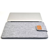 Wholesale case felt tablet for sale - Group buy Soft Sleeve Felt Bag Case Cover Anti scratch for inch inch inch Macbook Air Pro Retina Ultrabook Laptop Tablet NC99