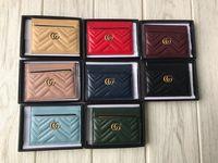 Wholesale tie packaging styles resale online - 50084 new card package WOMEN WALLET CHAIN WALLETS PURSEWomen Handbag Shoulder Totes Mini Bag Clutches Exotics