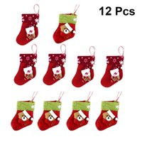 Christmas Tree Ornament Stockings American Flag Of Wrestling Santa Xmas Socks 2Pcs Set