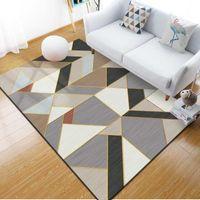 Wholesale livingroom rugs for sale - Group buy Simple Nordic Carpet Livingroom Home Soft Bedroom Carpets Sofa Coffee Table Rug Study Floor Mat Kids Crawling Rugs Fashion Mats