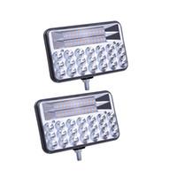 carro de luz baixa venda por atacado-CRESTECH 5 polegadas 135W LED Car Light Work impermeável de alta médios dos faróis Lâmpada para 12-24V para carro, SUV, caminhão, trator, barco, Cab