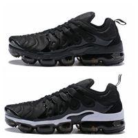 ingrosso calzature scarpe donna-Nike Vapormax air max airmax TN Plus Mens Womens Sports Scarpe da corsa Sneakers Runners Chaussure Reverse Sunset Cool Grigio Triple White Sii fedele