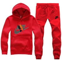spor takım elbisesi unisex toptan satış-Eşofman Sonbahar Jogging Yapan Spor Rahat Unisex Spor Parça Higt Kalite Hoodies Erkek Giyim S-3XL Suits