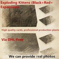 amigos de escritorio al por mayor-Exploding Kittens Desktop Card, compite con amigos y familiares para crear el juego de fiesta para adultos más divertido Memes T432345