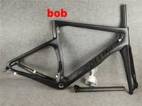 xs cuadro de carretera de carbono al por mayor-NK1K BoB Disc Black logo Nk1K Full Carbon Marco de bicicleta de carretera Cuadro de bicicleta XXS XS S M L
