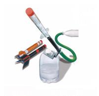 jouets scientifiques verts achat en gros de-Kids Science Kit Expérience de fusée verte Faites votre propre lance-roquettes éducatif STEM DIY jouets pour enfants