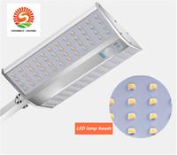paneles de poder al por mayor-Panel de energía solar de alta calidad Control remoto LED Luces de paisaje LED Luz de punto blanco luz olar 10W P67 (5Pack) Iluminación de seguridad