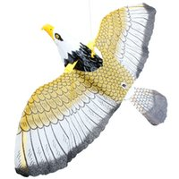 Wholesale toy eagle flying for sale - Group buy Electric Eagle Flying Birds Running Rivers and Lakes Booths Selling Electric Toys Degree Rotating Suspension Eagles V113