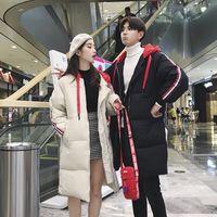 kırmızı şapka giysileri toptan satış-Cool2019 Kız Erkek Yaz Öğrenci Çifti Giydir Pamuk dolgulu Giyim Küçük Red Hat Uzun Fonu Hatta Pamuk Cap Tide