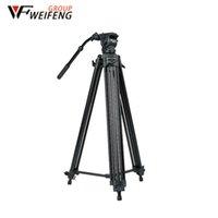 cámara trípode weifeng al por mayor-Weifeng trípode WF-718 Cámara profesional Trípodes 1,8 metros de tres trípode de cámara de aluminio de viaje portátil para SLR
