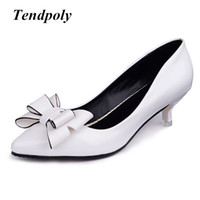 Wholesale hot trendy wedding dresses online - 2019 new retro fashion high heels summer fine with bow versatile shallow mouth trendy hot sales casual sexy prom wedding