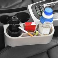 Wholesale car cup holder phone resale online - Multifunction Car Cup Holder Reusable Portable Travel Water Glass Bottle Holder For Car Console Seat Gap Cell Phone