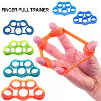 neue modehandbänder großhandel-Neue Art und Weise weicher haltbarer flexibler Handfinger-Bahren-Griff-Finger-Stärketrainer-Art- und Weisesportartikel