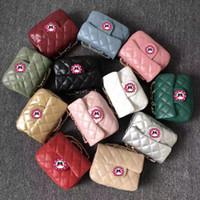 anneler için torbalar toptan satış-Çocuklar Desigener Çanta 2019 Moda Anne Ve Kızı Eşleşen Çantaları Anne Klasik Zincir Omuz Çantaları Çocuk Kız Prenses Coin Çantalar