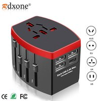 Wholesale electronics for u for sale – best onsumer Electronics Rdxone Travel Adapter International Universal Power Adapter All in one with Type C USB Worldwide Wall Charger for U