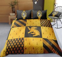 Wholesale green twin bedding sets resale online - Thumbedding Harry Potter Bedding Sets King Size Magic Duvet Cover Set Queen Twin Full Single Double Animal Bed Set With Pillowcases