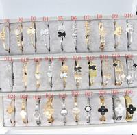 ingrosso porcellana d'argento d'argento dei monili-Titanio acciaio Bangle Silver Gold tendenza coreana di modo anallergico titanio braccialetto inossidabile Aprire polsino Cina gioielli per l'uomo le donne