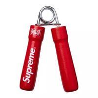 eğitim boksu toptan satış-Klon Kırmızı 14FW El Sapları Genişletici Ağır Sapları El Güç Tutucu Spor Ev Ofis Boks Eğitim Önkol Bilek Gücü Parmak Egzersiz