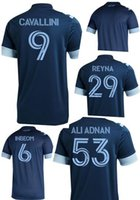Wholesale customized sports jerseys for sale - Group buy 20 Customized Vancouver Whitecaps away Inbeom Cavallini Reyna Ali Adnan Thai Quality sports jerseys yakuda Dropping Accepted