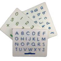 ingrosso green tablet-Magnetic Tablet Tavolo da disegno Pad Toy Bead Magnet Stylus Pen 26 Numeri di alfabeto Writing Memo Board Apprendimento Educational Kid Toy