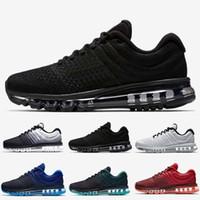 calçado para senhora venda por atacado-2019 Hot Venda de Alta Qualidade malha Knit calçado Homens Mulheres 2017 Running Shoes Sports baratos instrutor Sneakers US tamanho 5,5-11